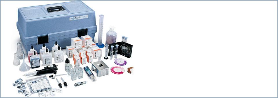HACH Test Kits - ชุดทดสอบคุณภาพน้ำ